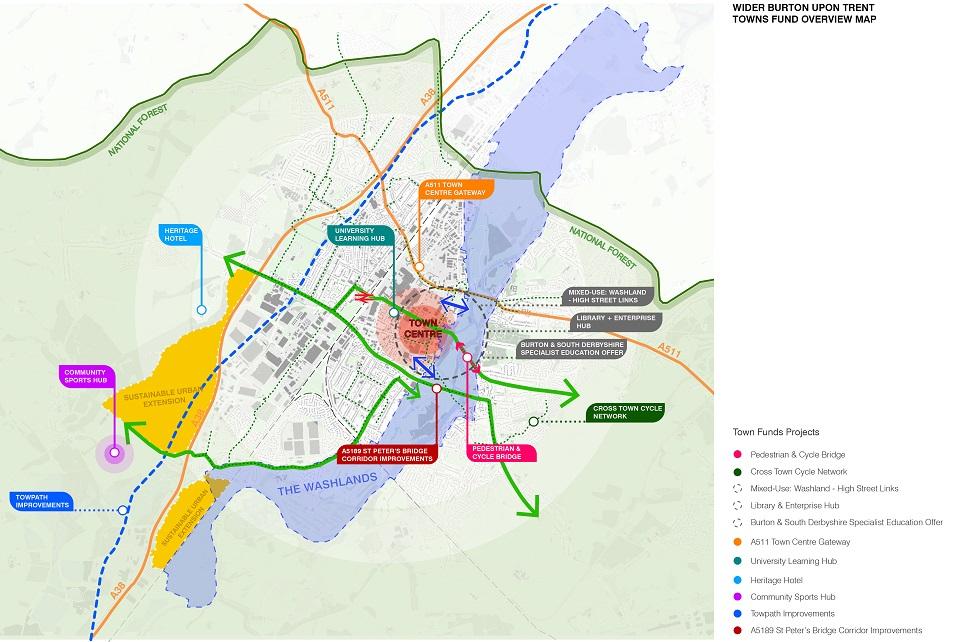 Burton Town Deal Intervention Proposal