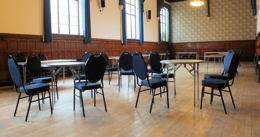The Lingen Room at Burton Town Hall